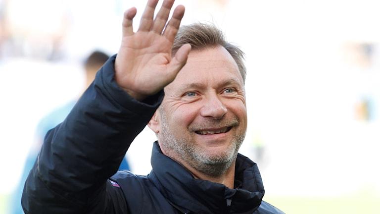 Peter Gerhardsson tar över damlandslaget.