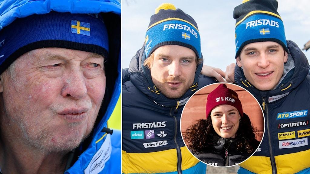 Wolfgang Pichler, Jesper Nelin, Hanna Öberg och Martin Ponsiluoma.