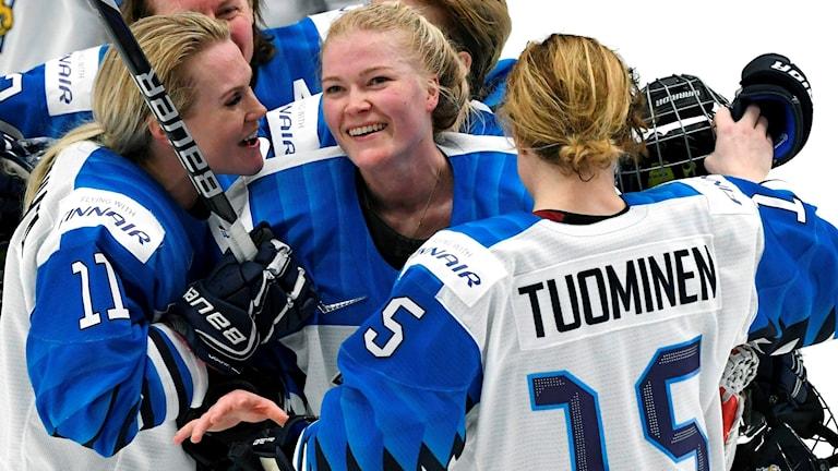 De finska spelarna kan fira en guldbonus trots ett silver.
