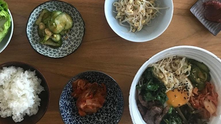 Koreansk mat.