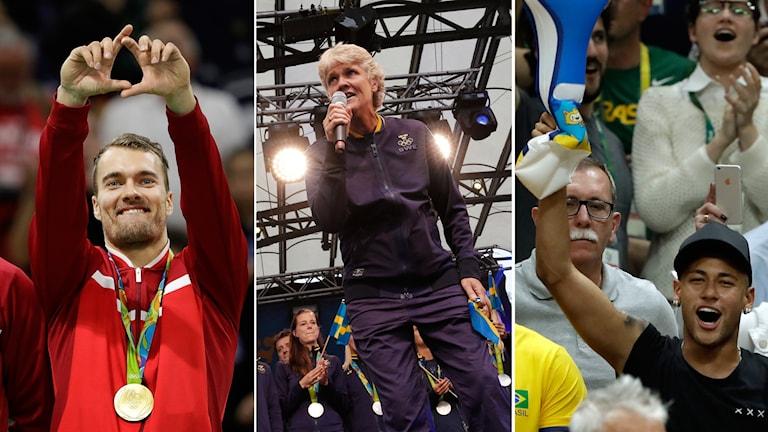 Danskt jubel, Pia Sundhage och Neymar