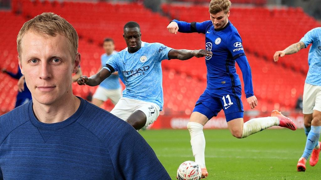 Richard Henriksson och City-Chelsea.