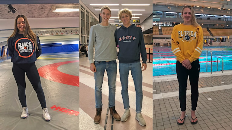 Jonna Malmgren, Jonatan Hellvig, David Åhman och Sara Junevik är en del av utmanarprogrammet Talang 2022.