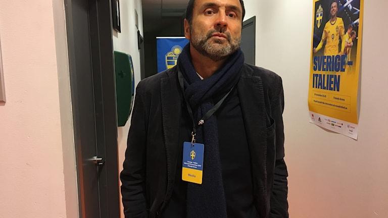 Paolo Brusorio, journalist på den italienska morgontidningen La Stampa.