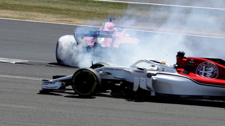 Ericsson kraschade.