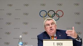 IOK:s ordförande Thomas Bach
