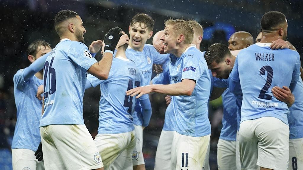Manchester City vann semifinalen mot PSG.
