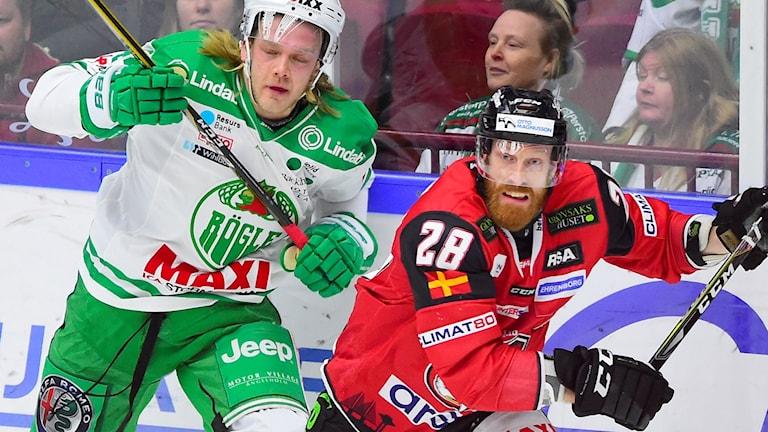 Rögles Olle Liss och Malmös Jens Olsson.