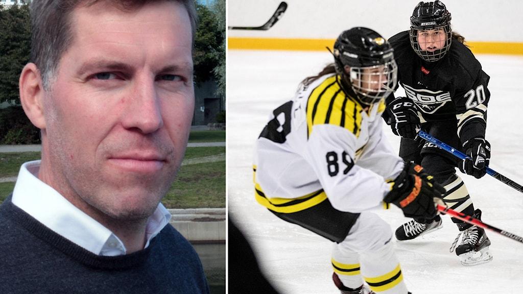 Expert Per Svartvadet / SDHL-match mellan Brynäs och SDE.