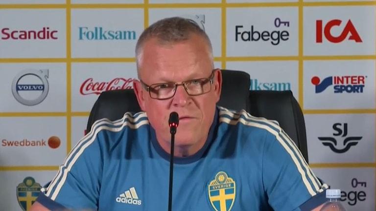 Janne Andersson är redo för VM i Ryssland.