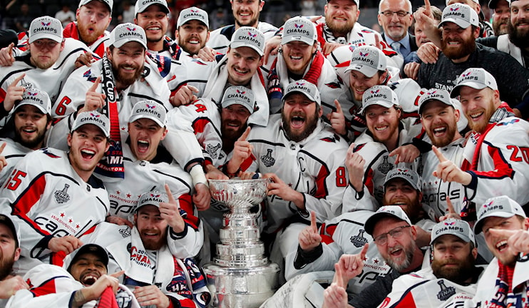 Washington Capitals vann Stanley Cup.