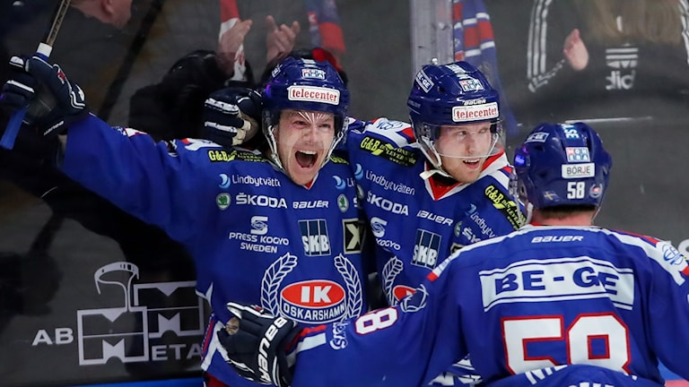 Joakim Hilding och Nicklas Heinerö.