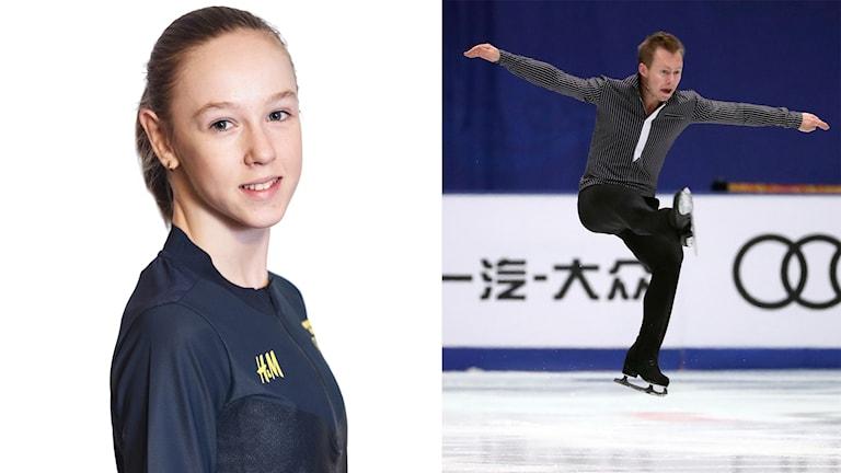 Anita Östlund och Alexander Majorov.