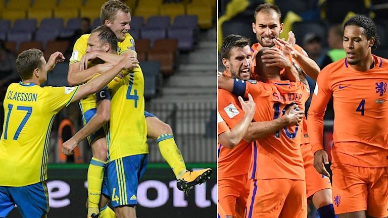 Sverige kan få möta Nederländerna i Nations League.