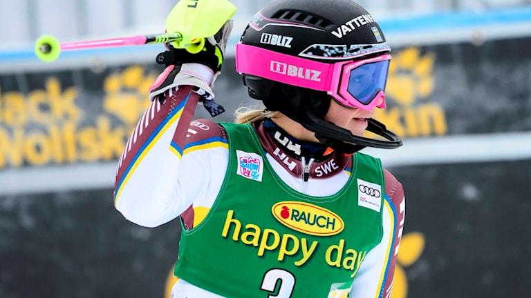 Frida Hansdotter har visat fin form de senaste tävlingarna i världscupen.