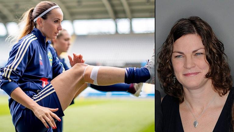 Spelarfackets Caroline Jönsson berättar att det kan bli en global VM-strejk.