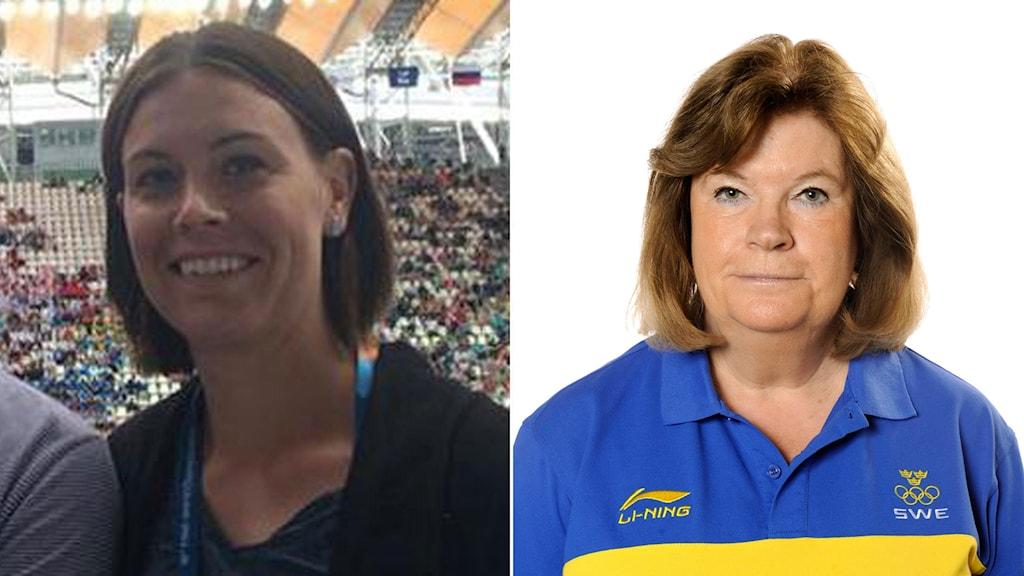 Anna-Karin Kammerling samt Gunilla Lindberg.