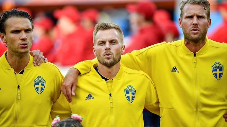 Sebastian Larsson under VM.