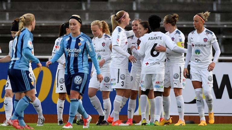 Rosengård vann mot Djurgården