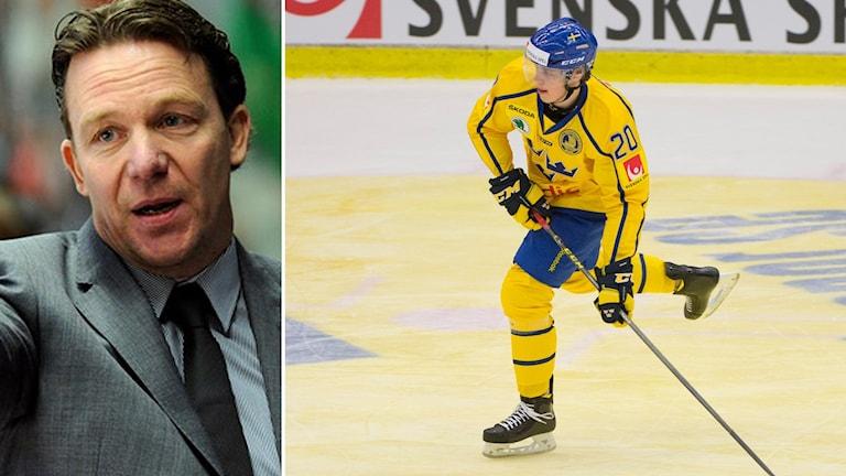 Challe Berglund och Joel Eriksson Ek.