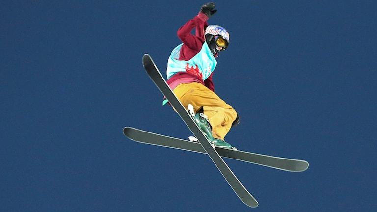 Estlands Kelly Sildaru, en av guldfavoriterna i slopestyle, missar OS i Pyeongchang på grund av en knäskada. Arkivbild.
