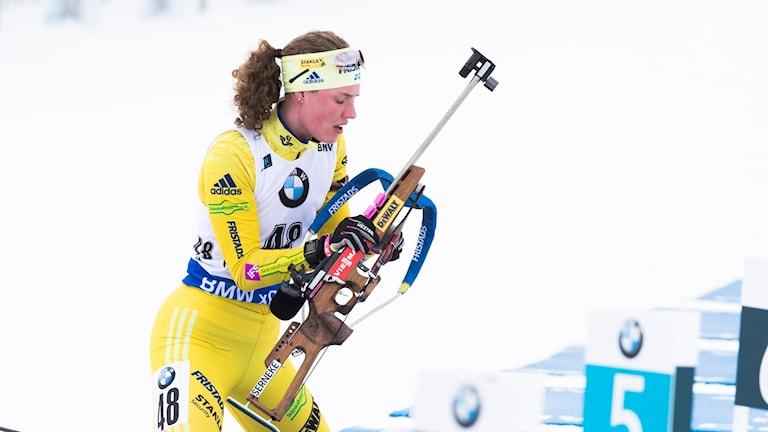 Hanna Öberg. Arkivbild.