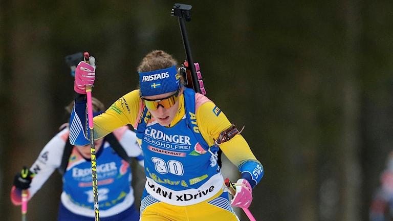 Hanna Öberg i Pokljuja.