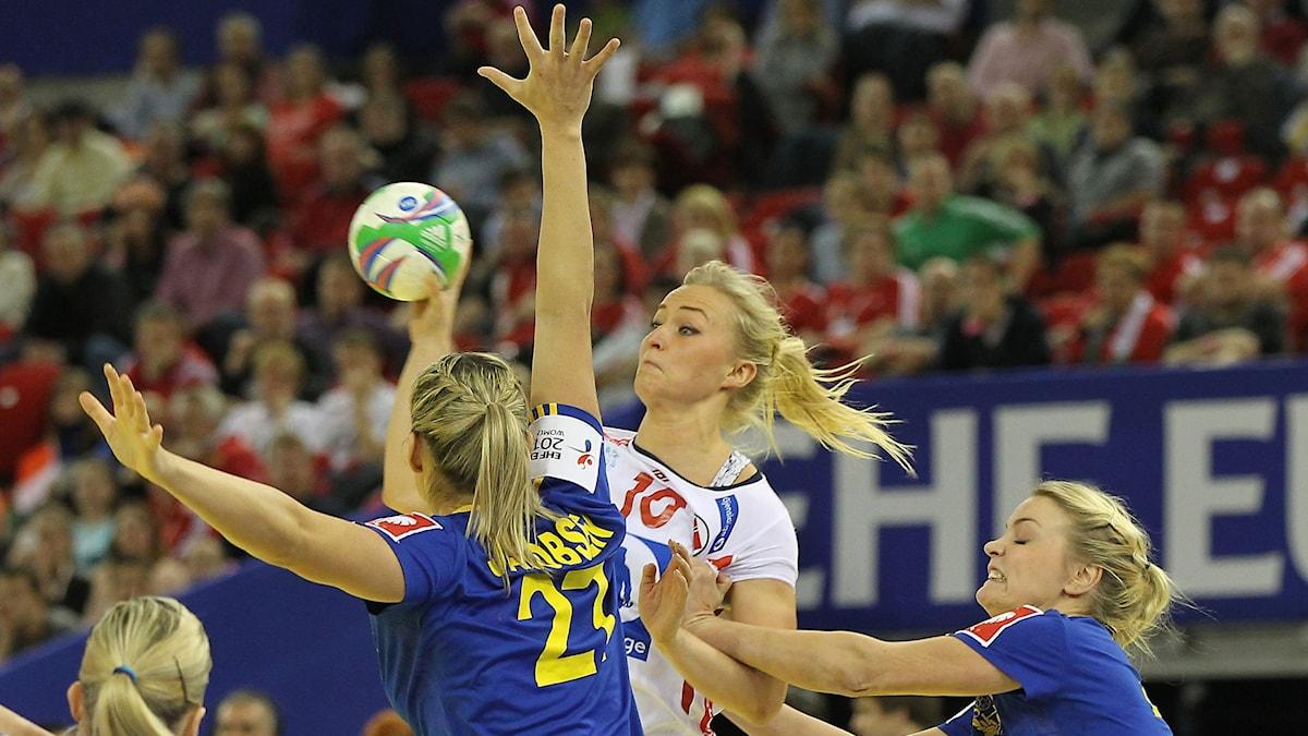 Stine Bredal Oftedals Norge blir en tuff uppgift för Sverige.