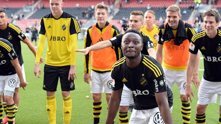 Tre poäng till AIK.