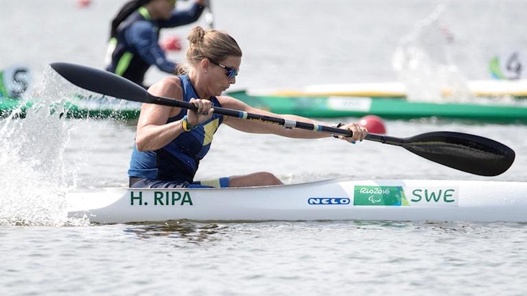 Helene Ripa i Paralympics.