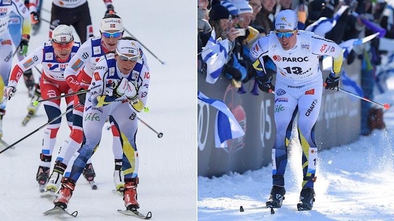 Charlotte Kalla och Calle Halfvarsson
