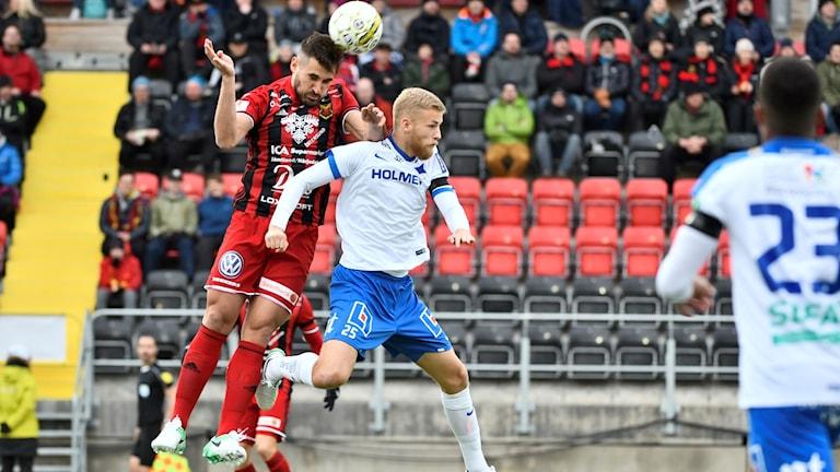 Östersund och Norrköping möttes senast i söndags.