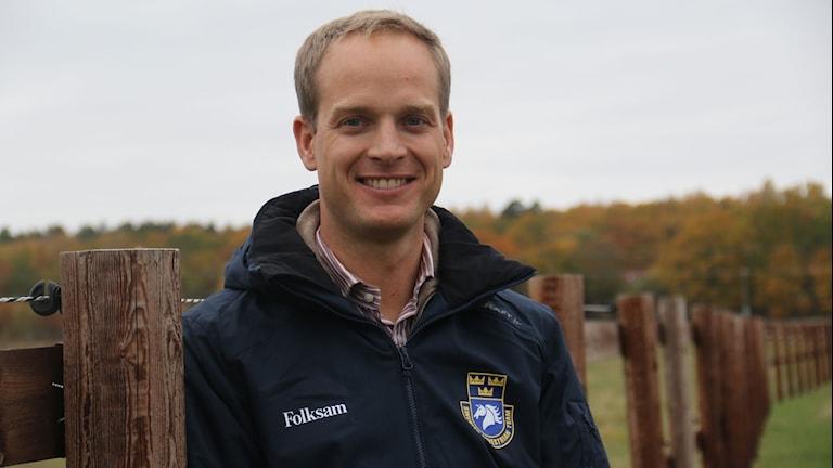 Henrik Ankarcrona är ny förbundskapten för hopplandslaget.