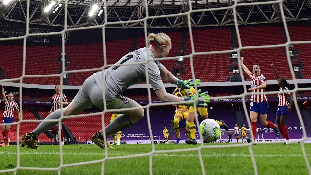 Spain Soccer Women's Champions League