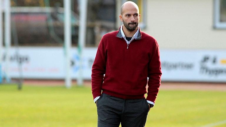 BP:s nya huvudtränare  Luis Pimenta.