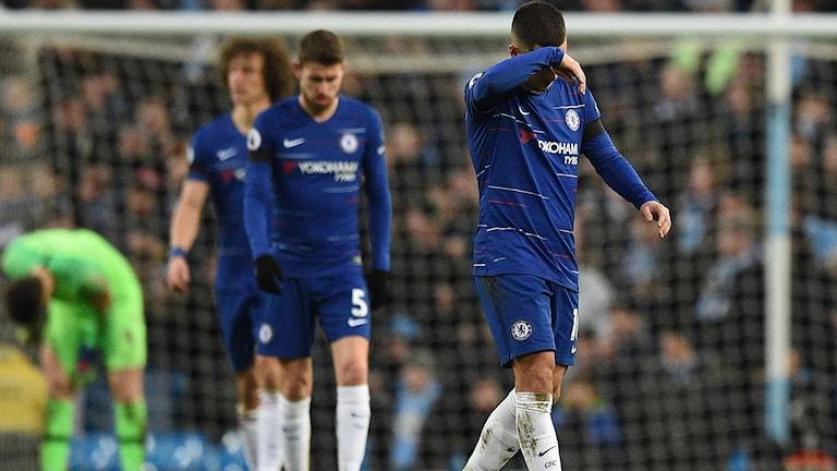 Chelsea hade en tung match mot Manchester City.