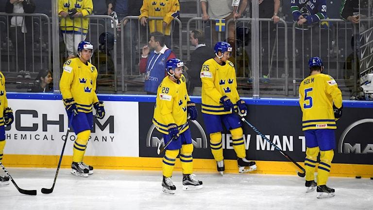 Tre Kronor spelar två gruppspelsmatcher i den lilla arenan under OS.