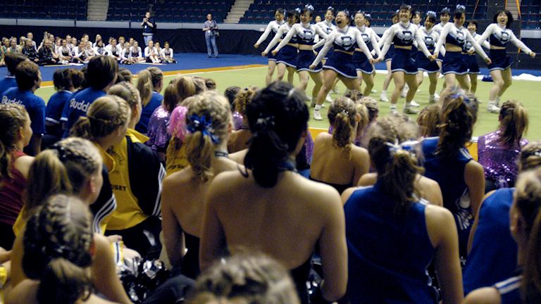 Cheerleading under europeiska juniormästerskap 2004.