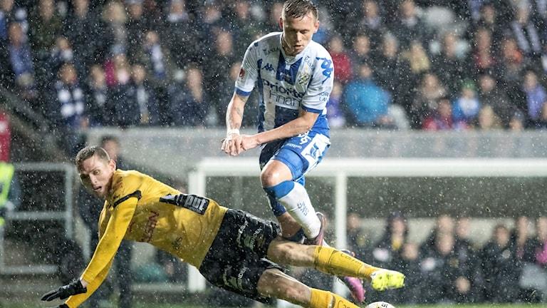 Göteborg och Elfsborg delade på poängen.