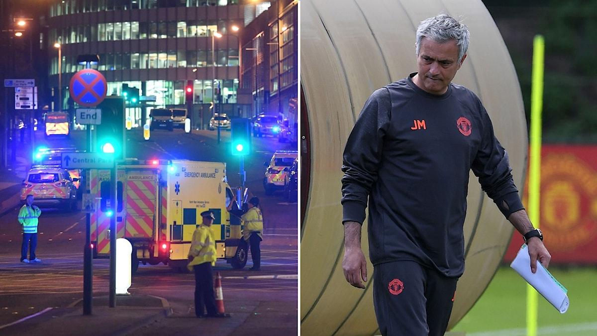 José Mourinho kommer, med anledning av händelserna i Manchester, att ha någon presskonferens i Stockholm.