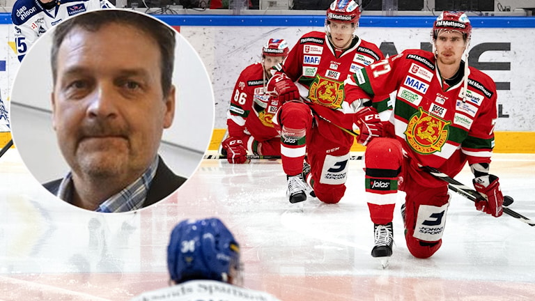 Peter Hermodsson, klubbdirektör i Mora / Moraspelare.