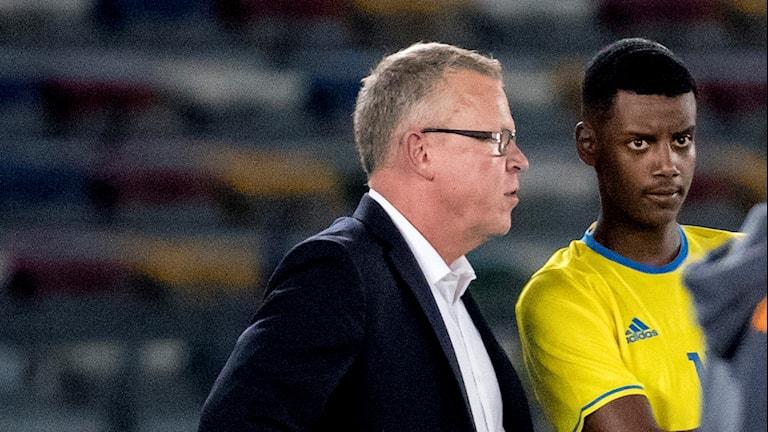 Janne Andersson ger Alexander Isak chansen att spela från start.