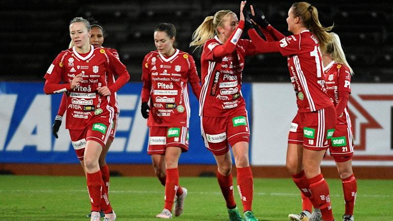 Piteå tog tre poäng i den damallsvenska premiären.