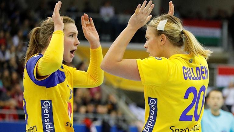 Anna Lagerquist och Isabelle Gulldén.