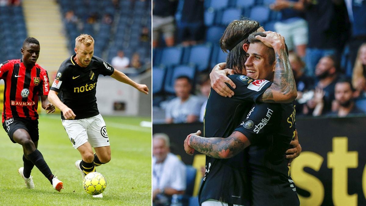 AIK vann i Sebastian Larssons debut.