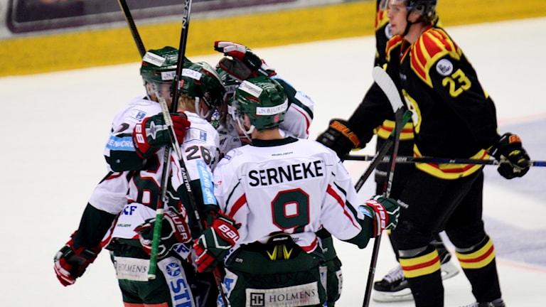 Frölunda slog Brynäs med 6-1.