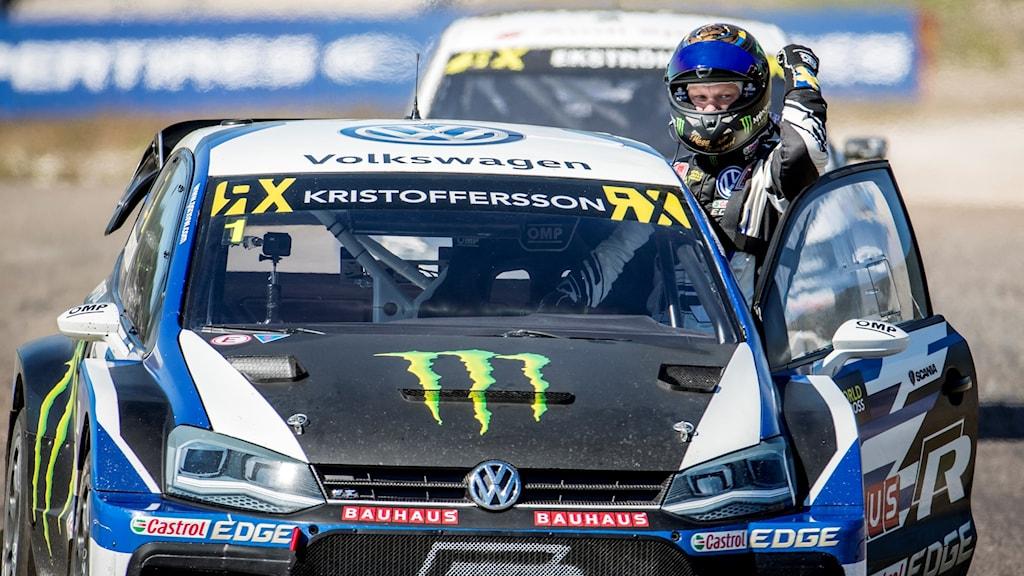 Johan Kristoffersson i Höljes tidigare i år.