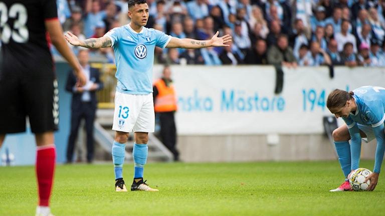 Malmö förlorade i Champions League.