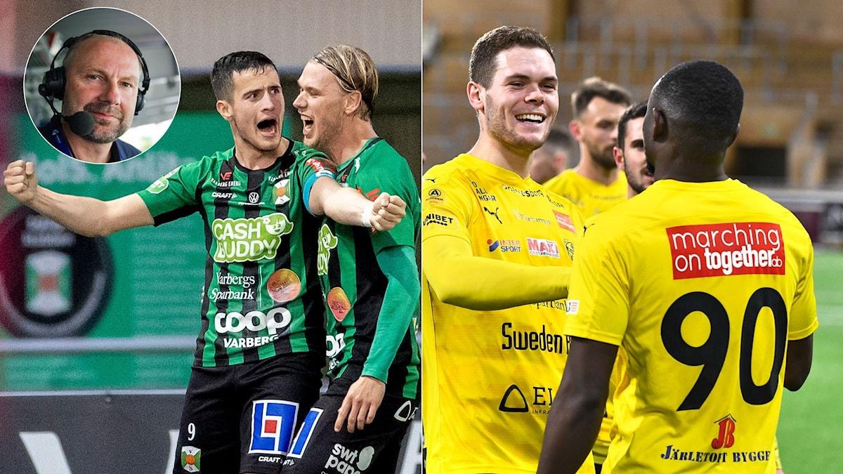 Collage efter allsvenskan. Foto: Bildbyrån och TT