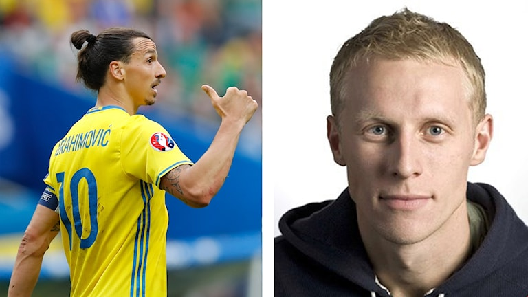 Zlatan och Henriksson.